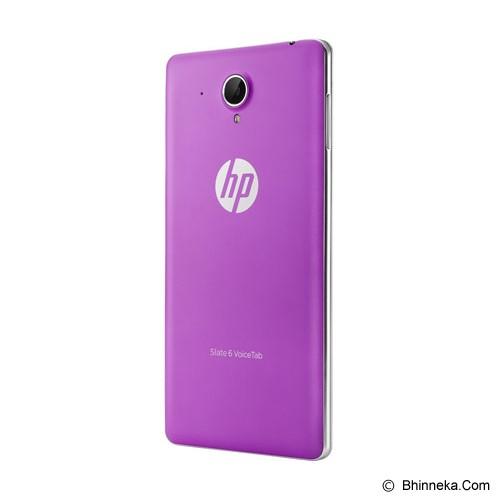 HP Back Cover for HP Slate 6 Voice Tab [J2W59AA] - Purple - Casing Handphone / Case